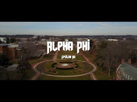 University of Delaware | Alpha Phi Bid Day Tour 2017