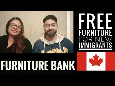 Furniture Bank Canada || Free Furniture For New Immigrants In Canada - Part 1