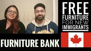 Furniture Bank Canada || Free Furniture For New Immigrants In Canada   Part 1