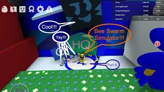 Unlocked Blue HQ and BEElieve in B.B.M_Playing ROBLOX Bee Swarm Simulator Part 6
