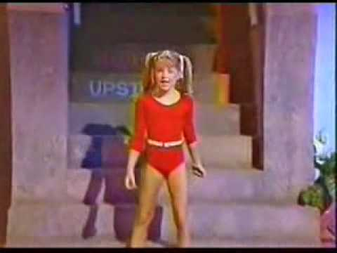 "Fergie /Stacy Ferguson ( Kids Inc) sings ""Go For It'"""