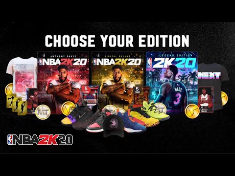 NBA 2K20 OFFICIAL RELEASE DATE IS CONFIMRED NBA 2K20 DIFFERENT EDITIONS CONFIRMED DELUXE EDITION 2K!