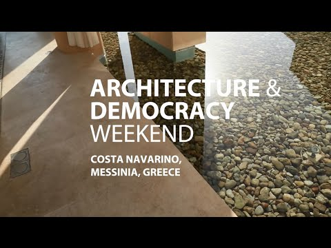 """Architecture & Democracy"" Weekend at Costa Navarino"