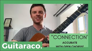 OneRepublic - Connection // EASY Guitar Lesson (open chords & exact synth line!)