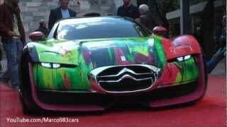 Citroen Survolt Art Concept Car Videos