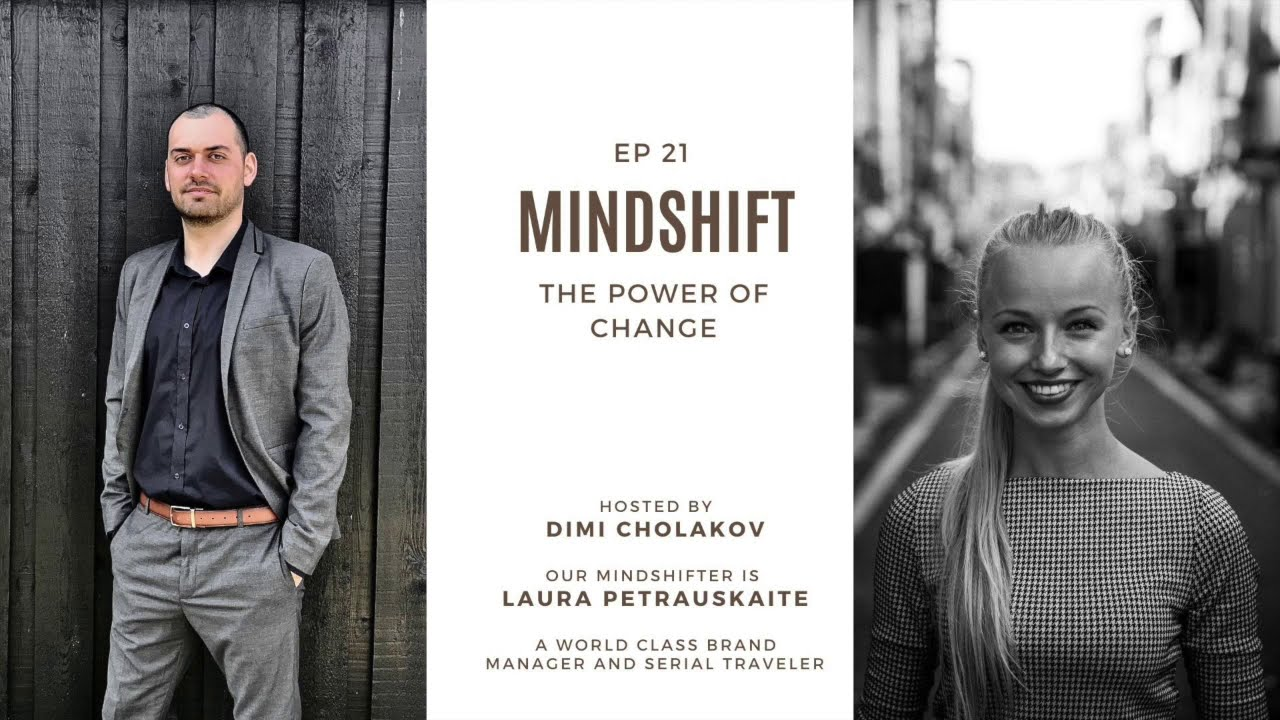 Excited to announce the 21st episode of Mindshift. ☺️