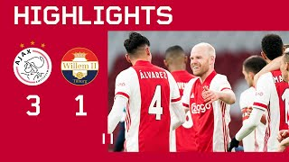 Highlights | Ajax - Willem II | Eredivisie