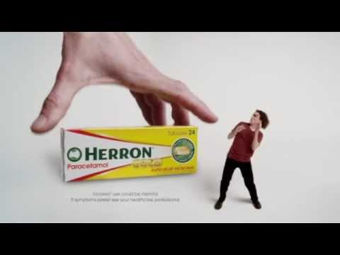Herron. Know your pain. Know your relief. New - TV Commercial 3