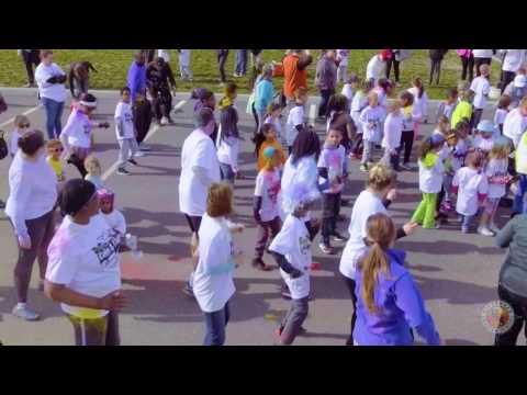 Riverhead Charter School color run