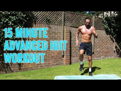 15 MINUTE ADVANCED HIIT WORKOUT   The Body Coach