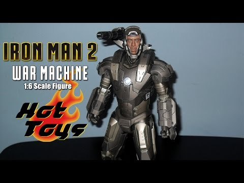 Hot Toys Iron Man 2 War Machine 1/6th Scale Figure Review