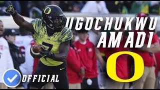 Ugochukwu Amadi || Ball Hawk || Official Oregon CB Highlightsᴴᴰ