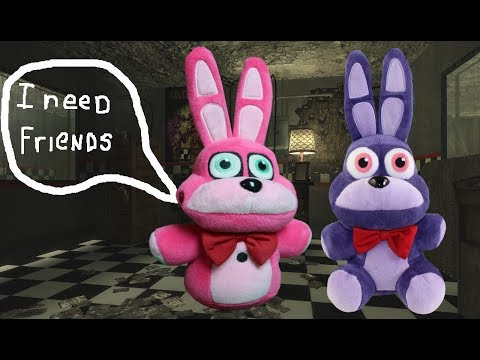 FNAF Plush Maddness Episode 1  A Day With Bonnet