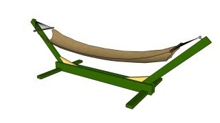 FULL PLANS at: http://www.howtospecialist.com/outdoor-furniture/how-to-build-a-hammock-stand/ ▻ SUBSCRIBE for a new DIY