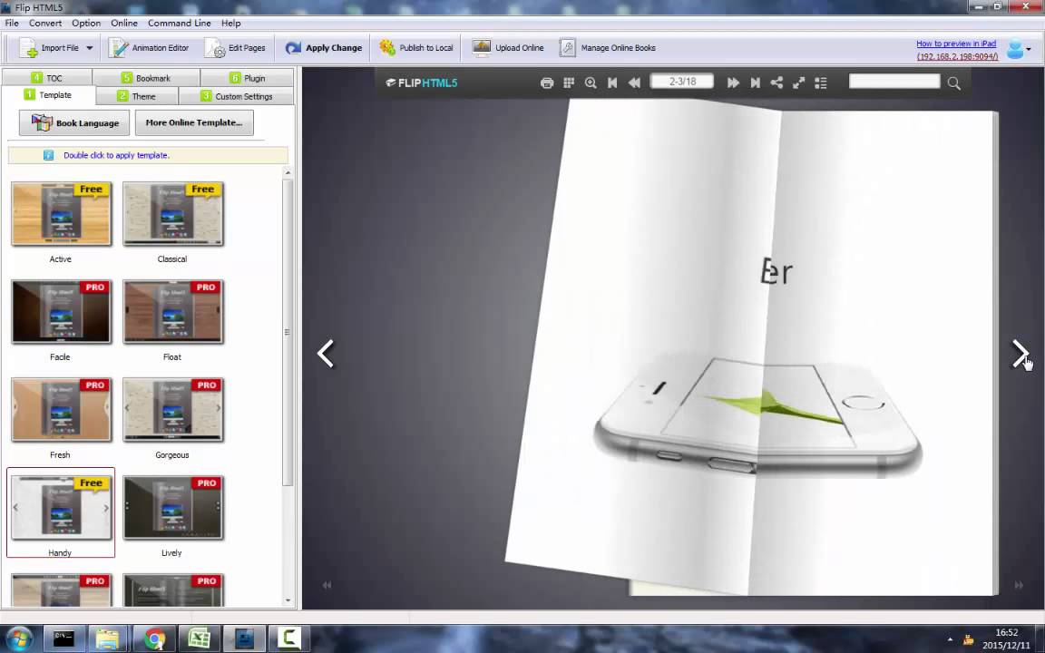 FlipHTML5 Tutorial - Import PDF Document