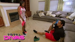 Naomi listens to advice from Jimmy Uso: Total Divas Preview Clip: August 11, 2015