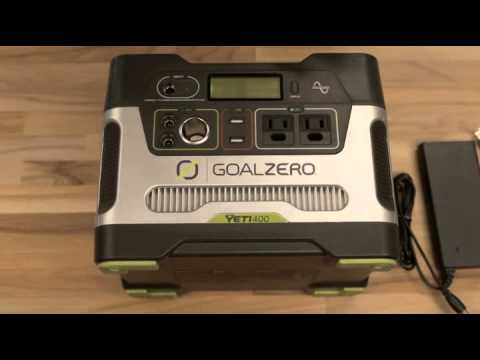 Sale! Goal Zero Yeti 400 Solar Generator