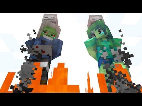 Zombie Life 4 - Craftronix Minecraft Animation - Видео из Майнкрафт (Minecraft)