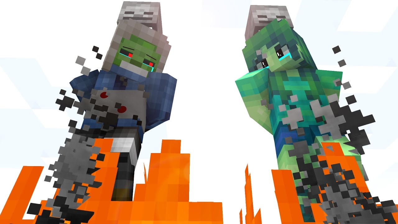 Zombie Life 4 Craftronix Minecraft Animation Youtube
