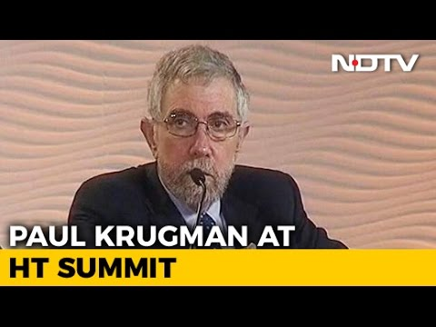 Low Global Growth Is the New Normal:  Paul Krugman