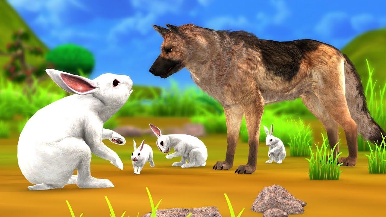 कुत्ता और खरगोश की दोस्ती Kahani - Hindi Kahaniya - Panchatantra Moral Stories - Hindi Fairy Tales