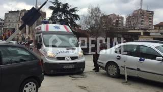 Kumanovë: Security bankes perdor dhune ndaj klientit! (Video Exclusive)