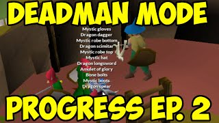 Oldschool Runescape - Deadman Mode Progress Ep. 2 | The Struggle