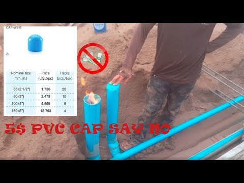 How To Cap Off The Pvc Pipe Without Using Pvc Cap Plumbing Work