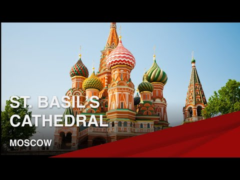 Famous Landmarks Of Moscow I St. Basil's Cathedral