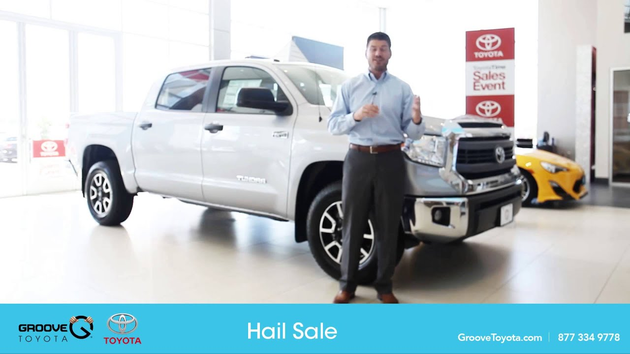 toyota hail sale 2015 youtube