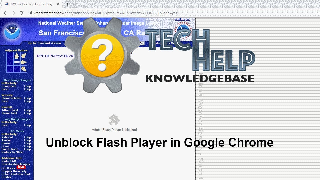 How to unblock Flash in Chrome | Tech Help Knowledgebase