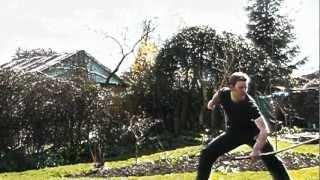 Sword Trick Training
