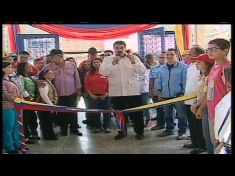 Presidente Nicolás Maduro inauguración año escolar 2016 - 2017