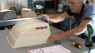 Maxx Air vent cover installation by RV Education 101®
