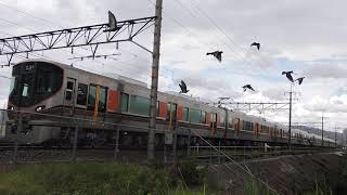 試6781M 323系LS02編成 高槻~摂津富田