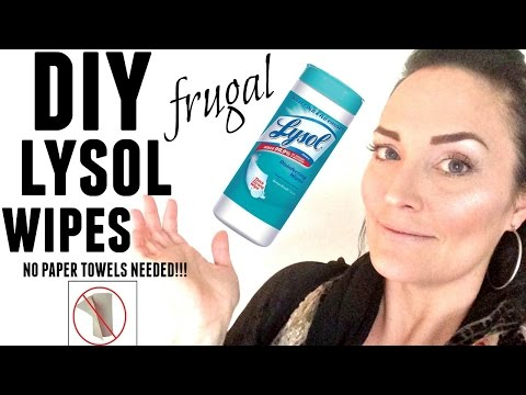 👋diy-kitchen-lysol-/-clorox-wipes-recipe●-cleaning-life-hack-●-how-to-make-disinfecting-wipes