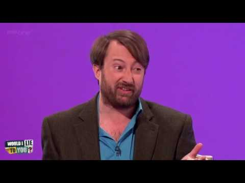 Miles Jupp's system of drying himself after a shower - Would I Lie to You?