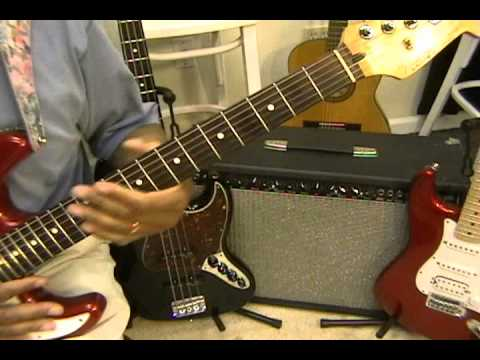 Jimi Hendrix Style Learning Key Signatures Major Keys Lesson / Cover EricBlackmonGuitar