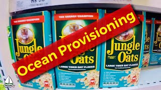 Provisioning for Sailing an Ocean, [An Exact Provisioning List] Patrick Childress Sailing Videos #20