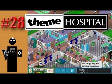 Let's Play Theme Hospital #28 No you're not training your replacement, we're understaffed.