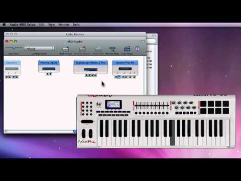 AMS MIDI Test - Mac OS X - Troubleshooting