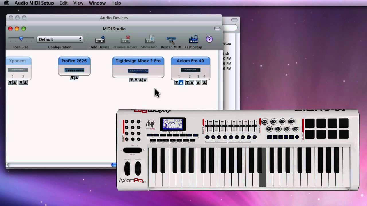 AMS MIDI Test - Mac OS X - Troubleshooting