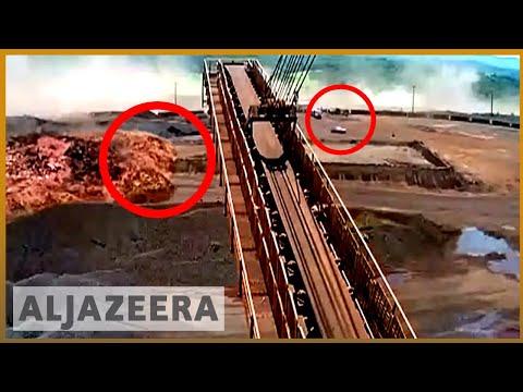 🇧🇷 Brazil dam collapse: New video shows moment of dam burst l Al Jazeera English