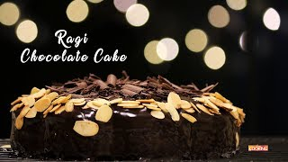 eggless ragi chocolate cake easy pressure cooker cake