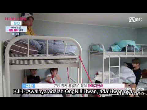 Funny Moment Wanna One Go ep 1 part 2