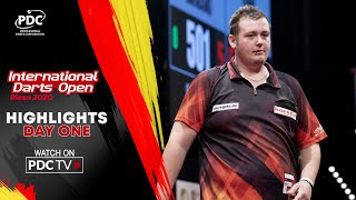 Day One Highlights | 2020 International Darts Open