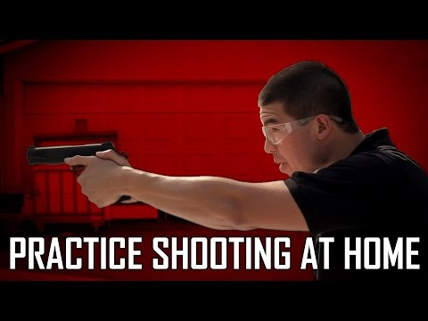 Affordable Practice Shooting at Home - Firearms Cross Training with Airsoft