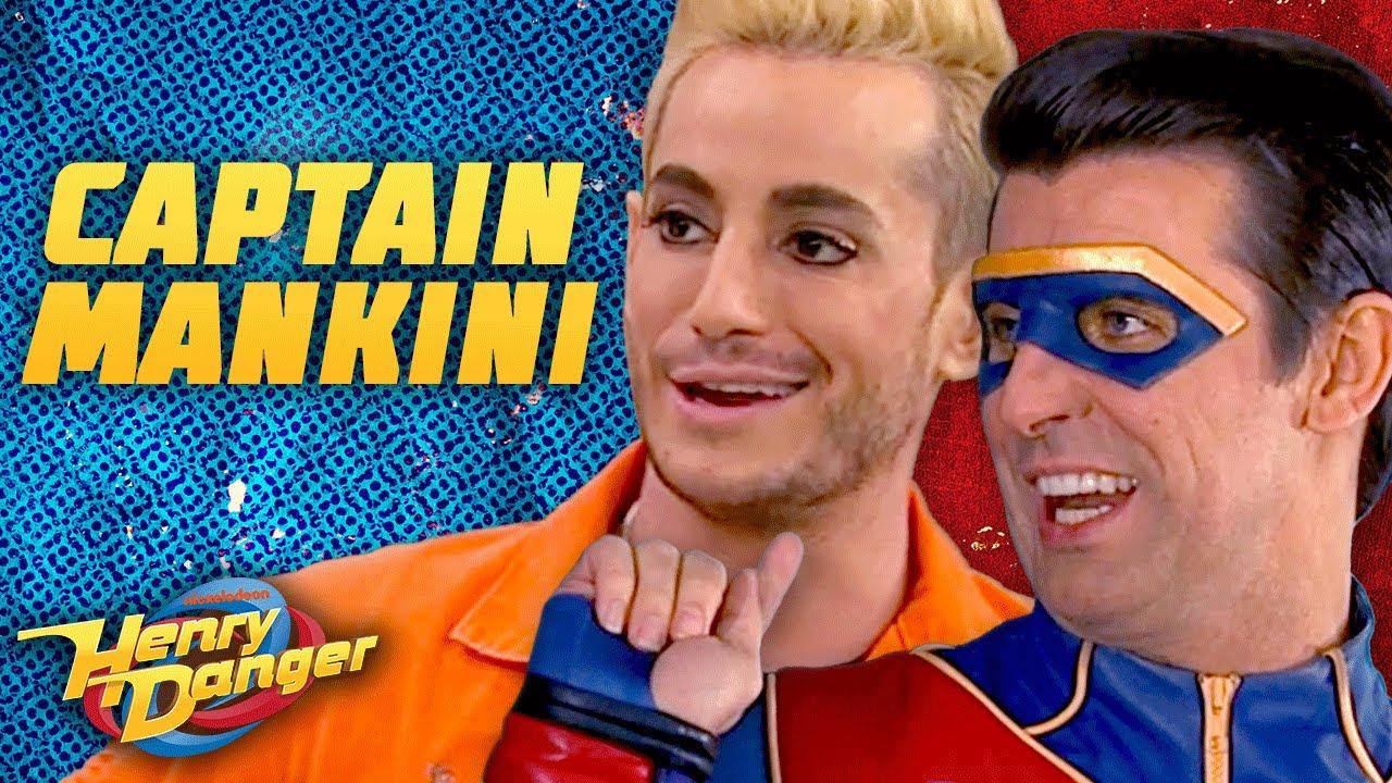 Captain Man Swaps Bodies With Frankini! 'Captain Mankini' | Henry Danger