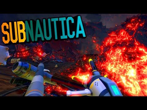 Subnautica - FIXING & REPAIRING THE AURORA SHIP, REPULSION CANNON #10 (Subnautica Survival Gameplay)