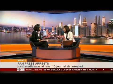 BBC Persian's Rana Rahimpour on Arrest of Iranian journalists